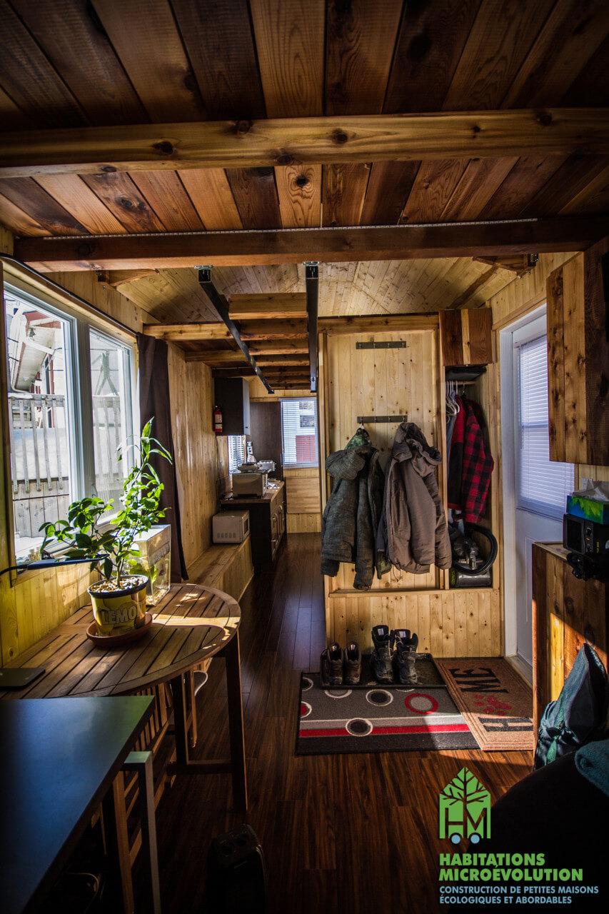 Notre premi re micromaison sur roues for Acheter une maison au canada conditions