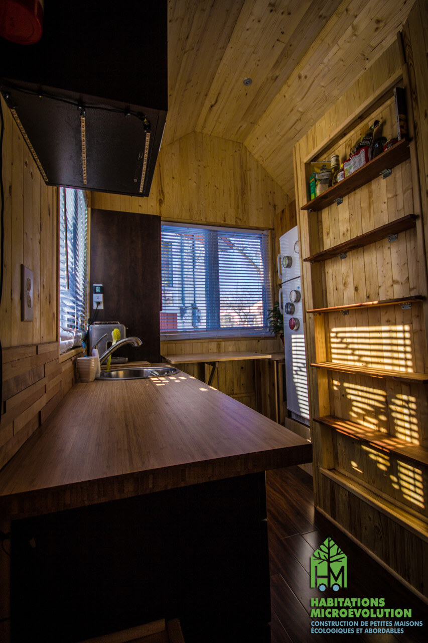 Cuisine tiny house