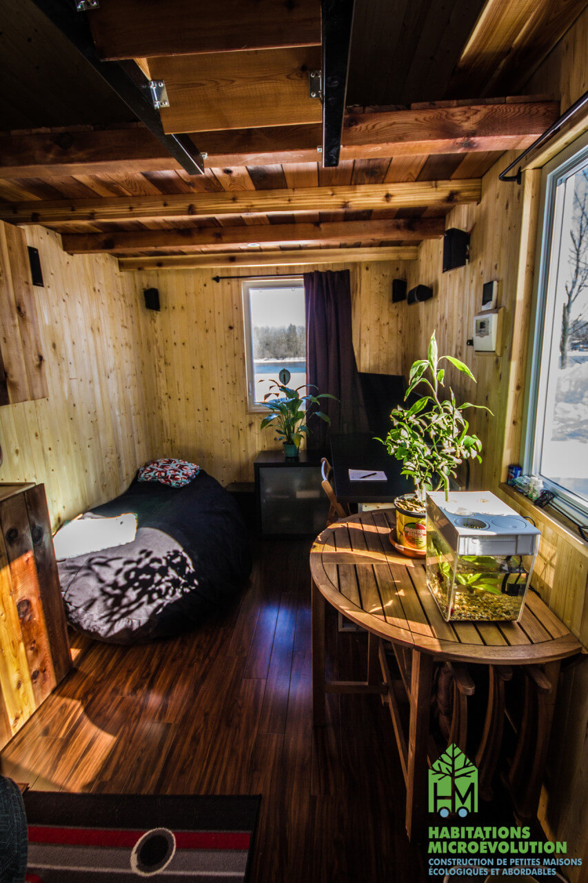 Salon bureau tiny house