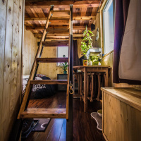 Escabeau tiny house