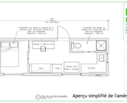 Plan de construction tiny house
