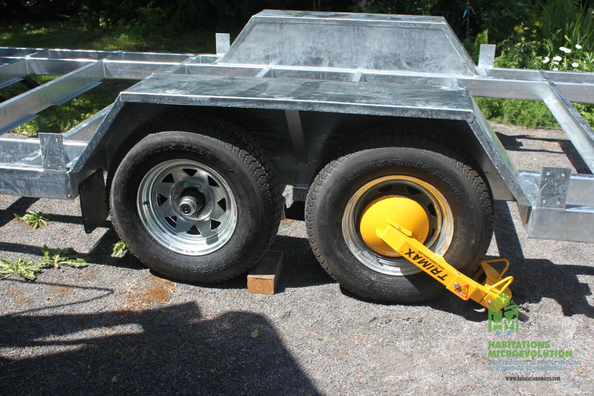 Achat Remorque Tiny House tiny house trailer (galvanized steel)