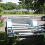 Remorque mini maison acier galvanisé
