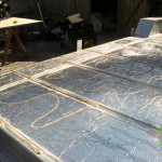 Installation du contreplaqué