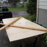 Construction des fermes de toit