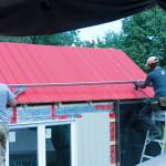 Installation des panneaux solaires 2