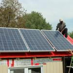 Installation des panneaux solaires 3