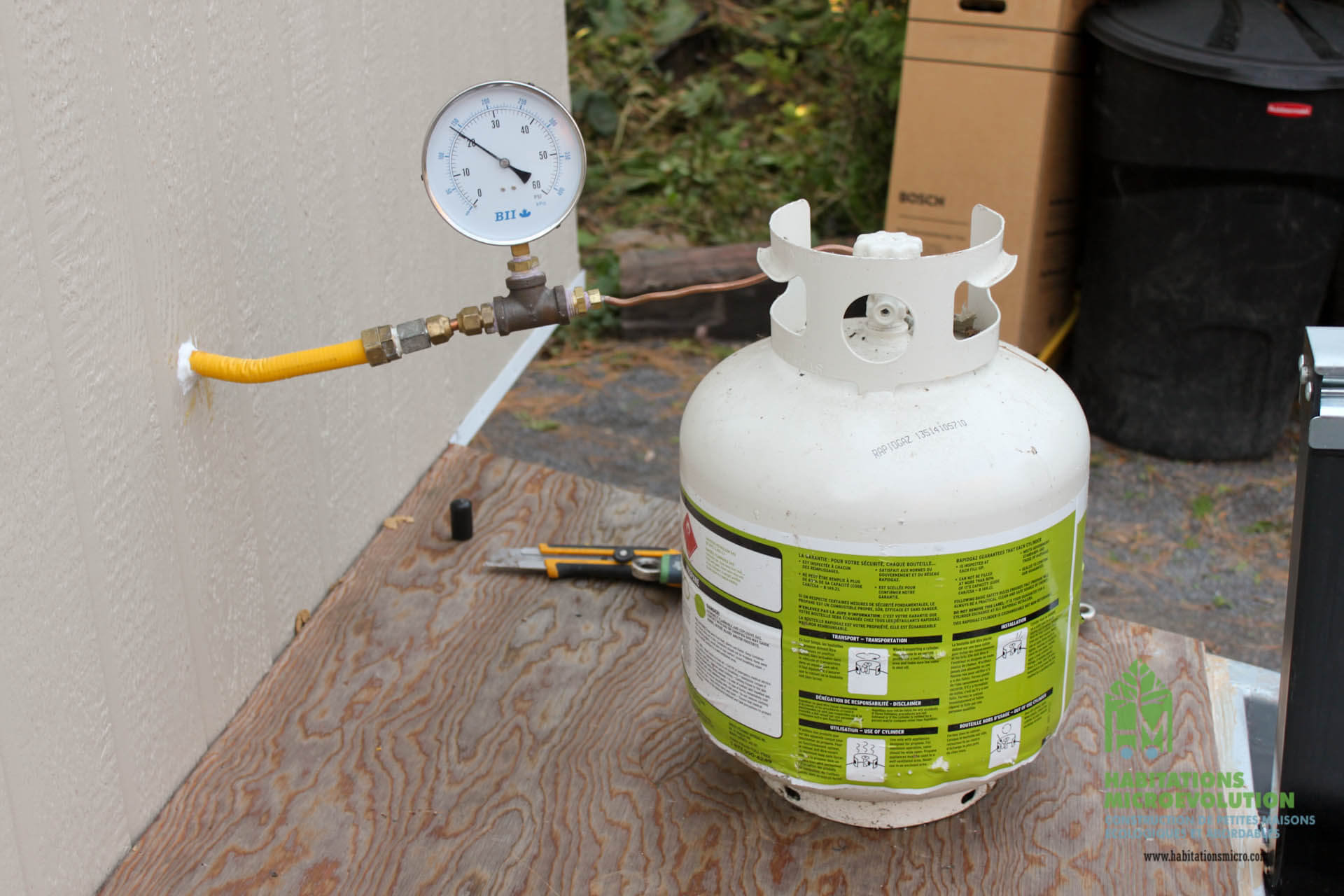 Test fuite propane