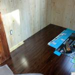 Installation du plancher de bambou 2