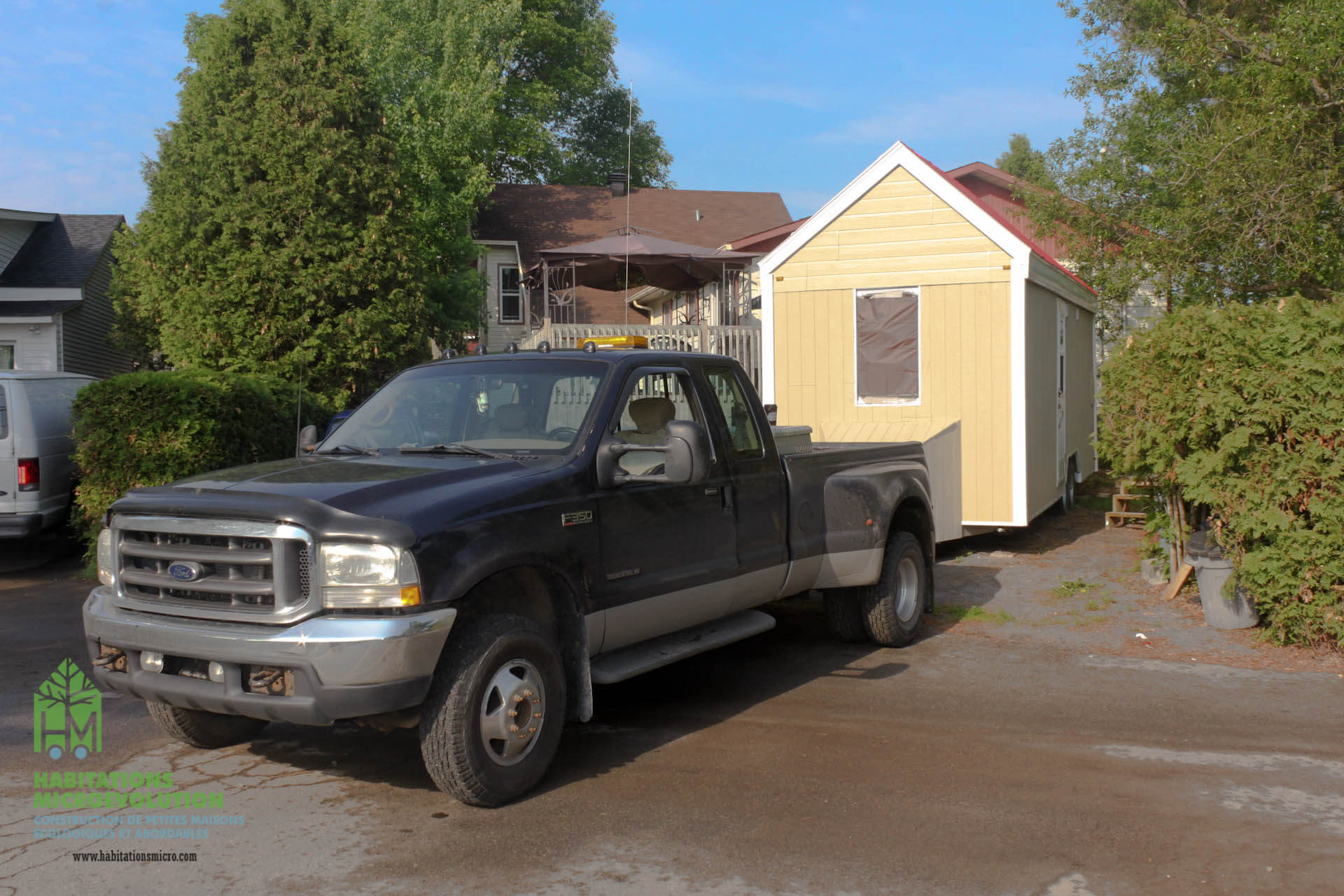 Déplacement tiny house