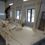Construction ossature tiny house
