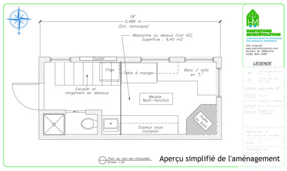 Plan de construction mini maison