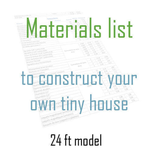 Tiny House Materials List  Habitations Microvolution