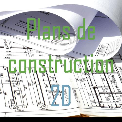 plans de construction 2D