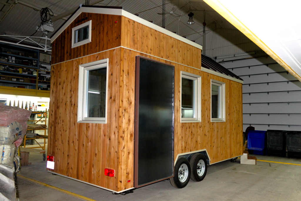acheter tiny house chez habitations micro volution. Black Bedroom Furniture Sets. Home Design Ideas