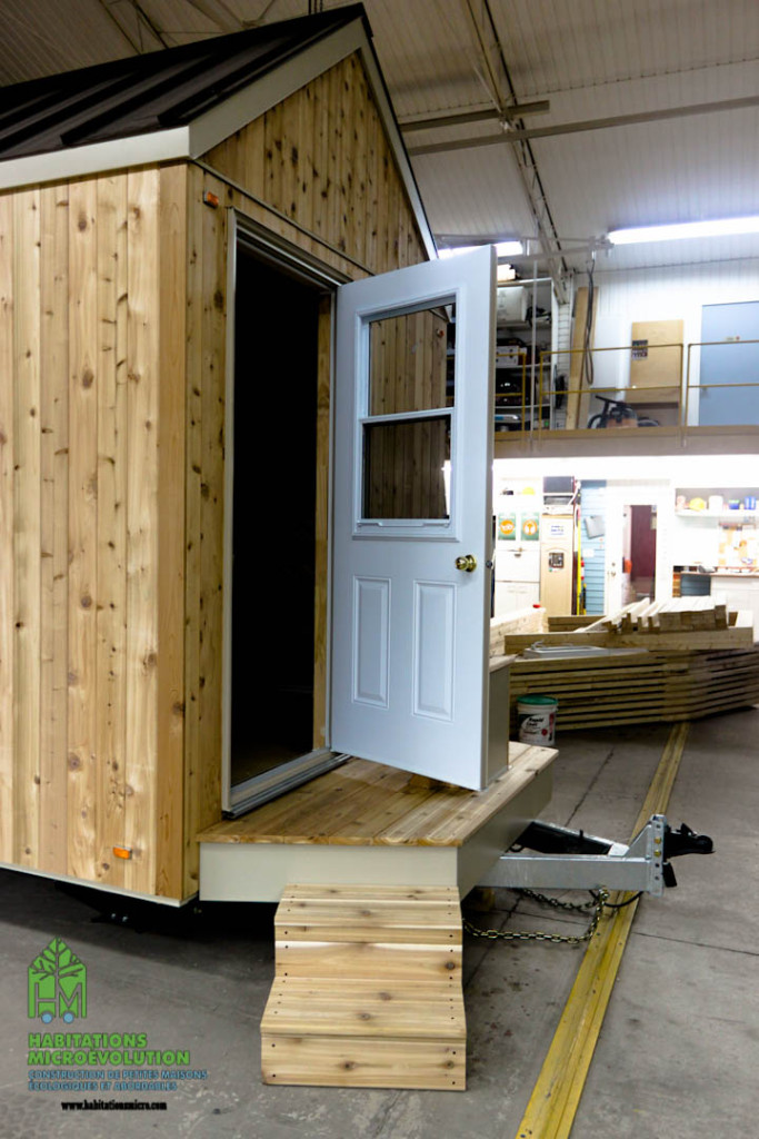 Tiny house coquille ext rieure archives habitations for Portent une coquille