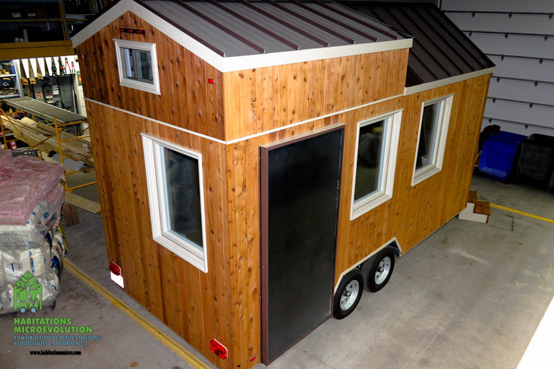 Tiny house coquille extérieure