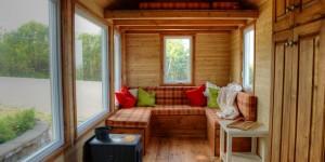 Tiny house poêle à bois