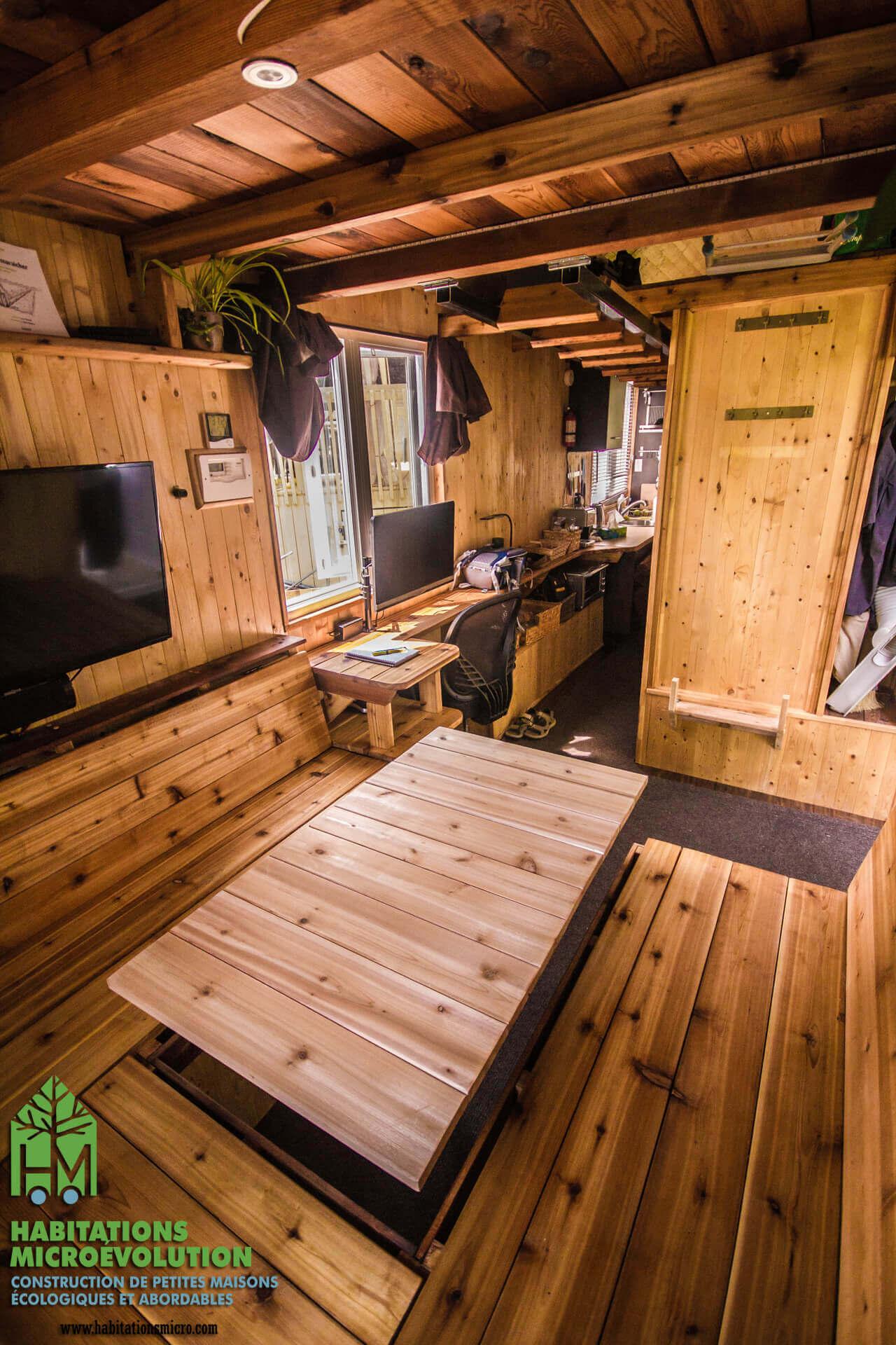 Aménagement mini maison