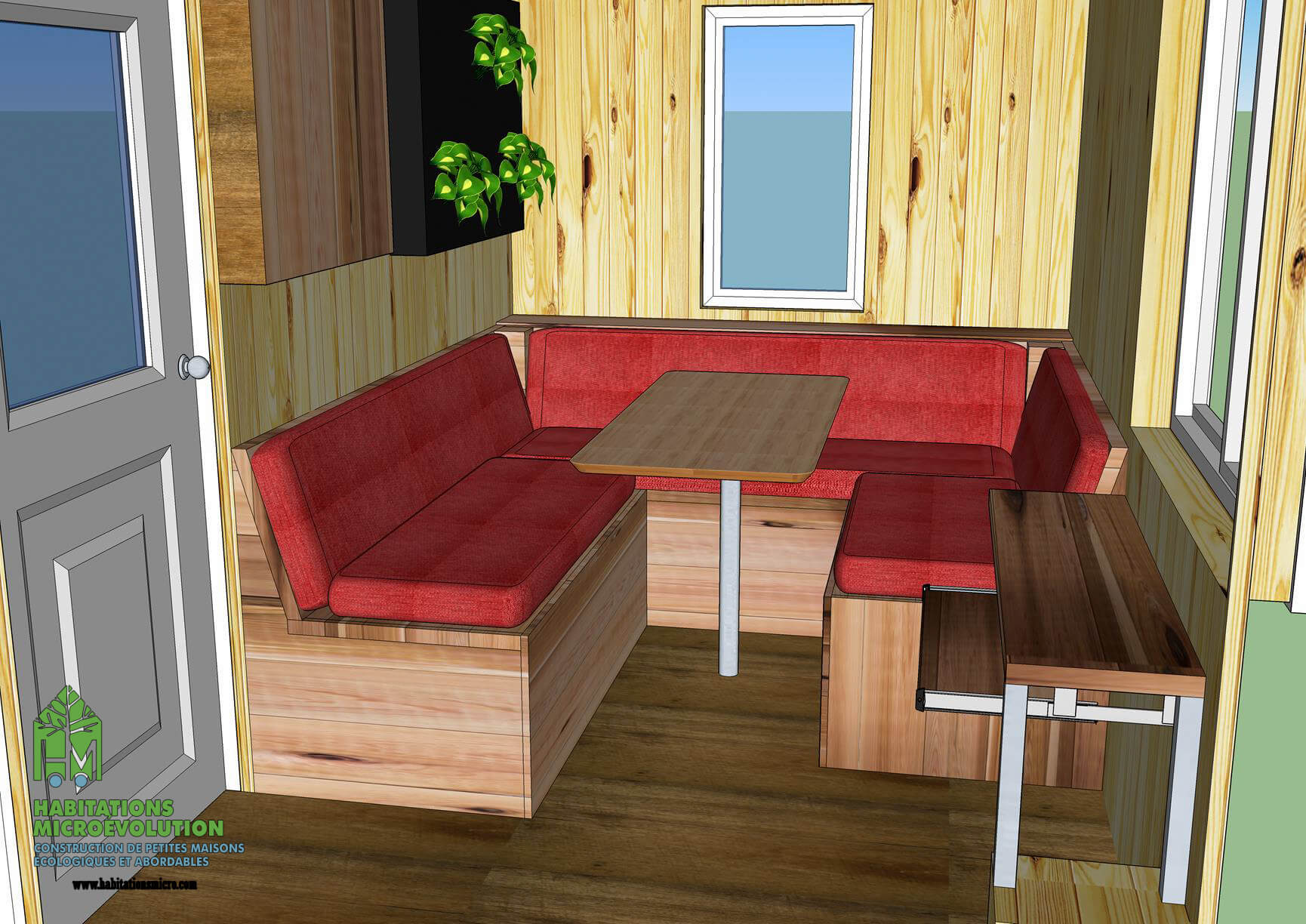 Aménagement tiny house