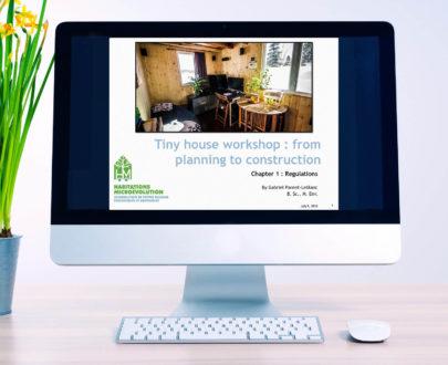 Tiny house workshop presentations