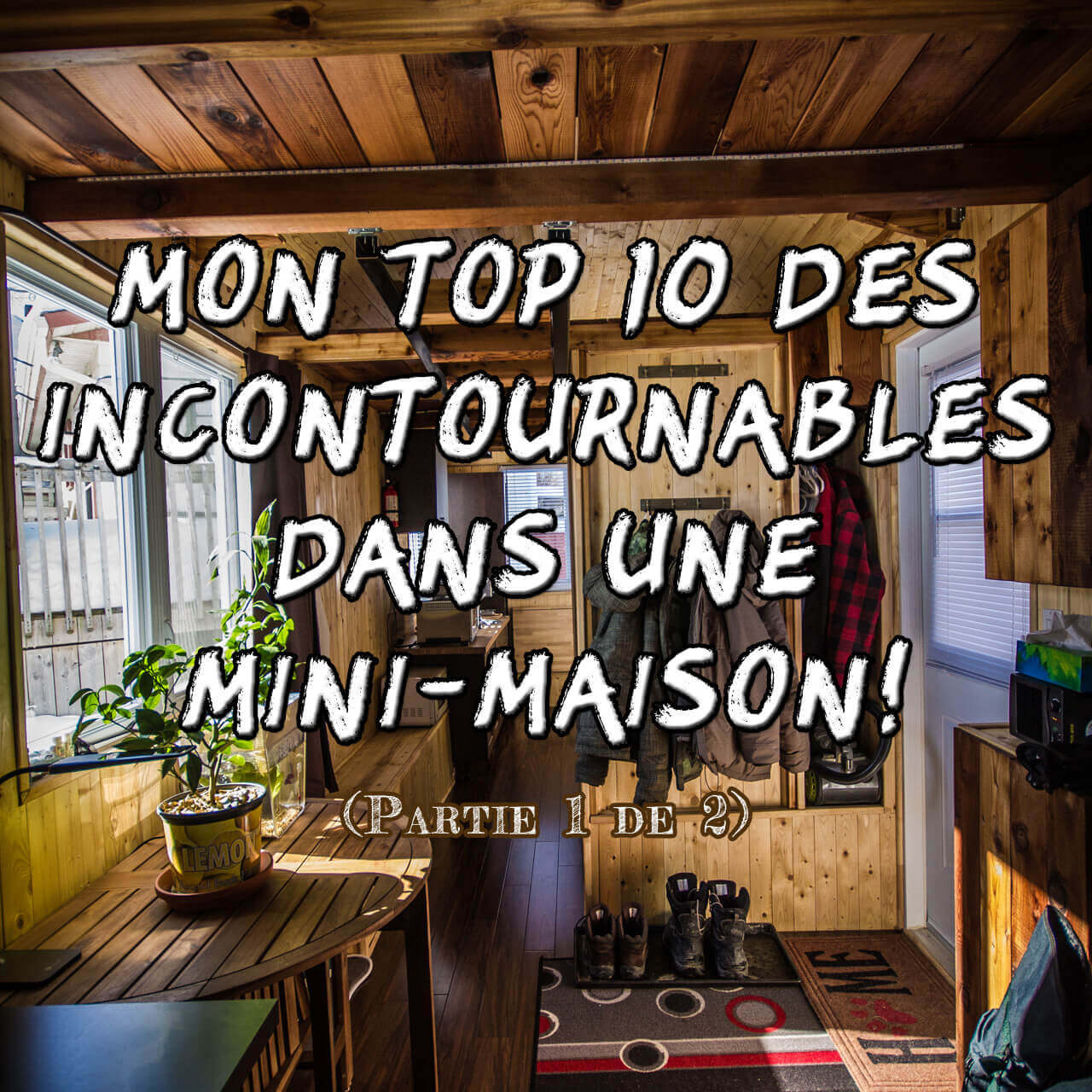 Mon top 10 des incontournables dans une mini-maison! (article 1 de 2)